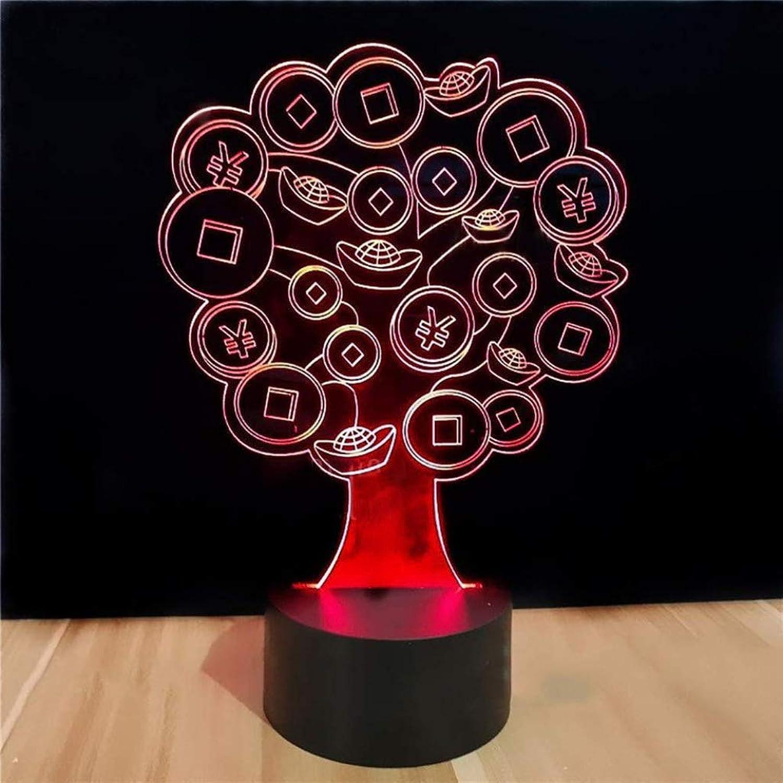 Happy Together Kreative 3D Stereo Nachtlicht LED Schreibtischlampe Mnner und Frauen Geburtstagsgeschenk Weihnachtsnachtlicht