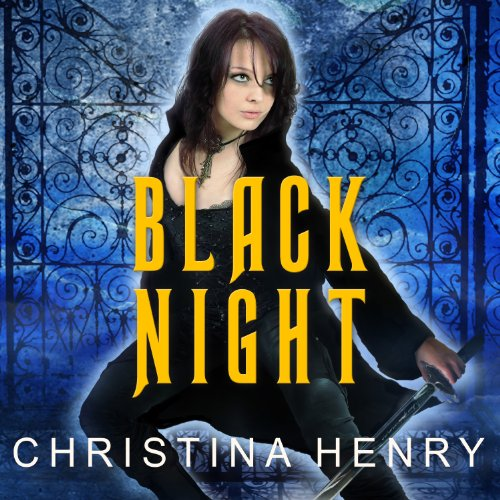 Black Night audiobook cover art