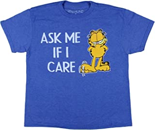 Garfield Boy's Ask Me If I Care Graphic T-Shirt