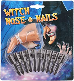 BMBN Maskers, 1 Set Heks Lange Neus Nep Ghost Vinger Nail Halloween Make-up Eng Cosplay Props