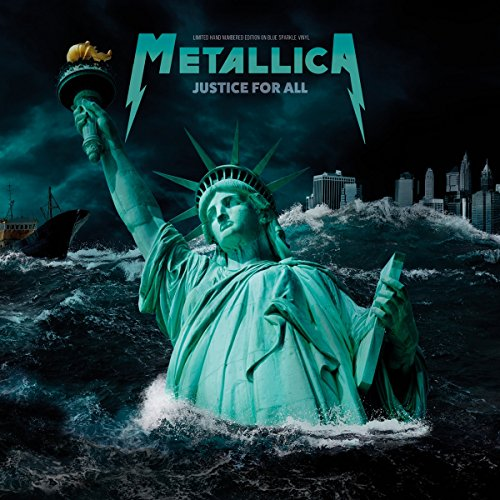 Metallica - Justice For All: Edición Limitada en Vinilo Azul