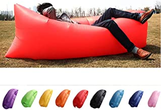 Foldable Inflatable Loungers Hammock Couch Floating Sofa for Travelling Outdoor Picnic Beach Parties TopHGC Air Sofa Camping