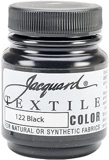 Jacquard Textile Paint 8 Oz Black