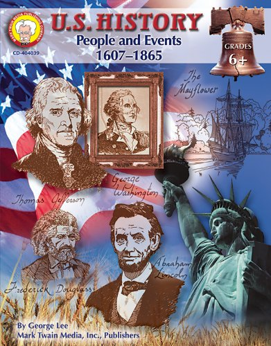 Mark Twain Media | US History 1607–1865 Resource Workbook | 6th–8th Grade, 128pgs (American History Series)
