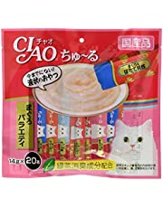 チャオ (CIAO) 猫用おやつ ちゅ~る まぐろバラエティ 14g×20本入