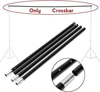 4 Section Adjustable Backdrop Support Stand Crossbar (Total Length 9.84ft, Only Cross Bar Not Included Stand Support)