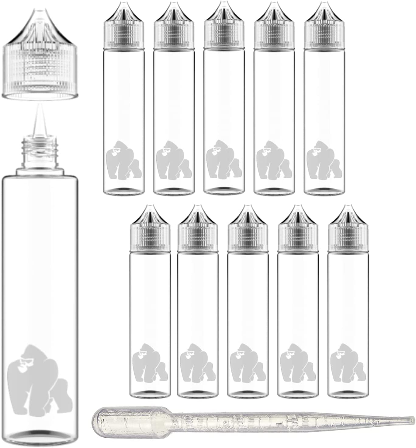 Chubby Gorilla LDPE Award PET Plastic Unicorn 10 25% OFF Squeeze Bottle 60ml