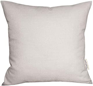 O-Blong Modern Decorative Pillow Grey and Black 10 x 22 inches