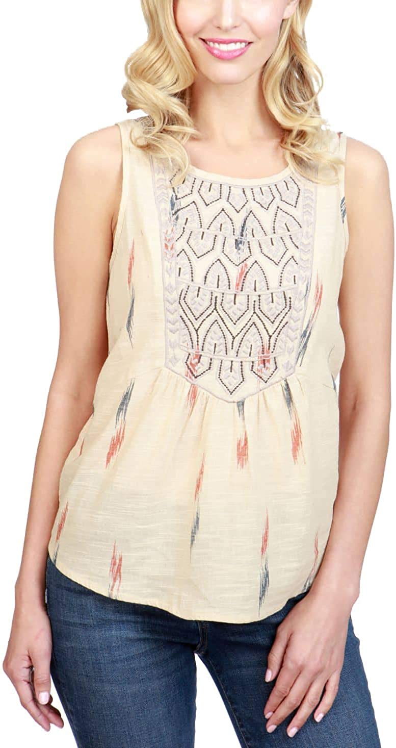 Lucky Brand Women's Top Tank Weekly New product! New type update Printed