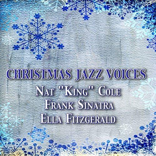 """Nat """"King"""" Cole, Frank Sinatra, Ella Fitzgerald"""