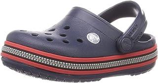 Crocs Crocband Zipper Band Clog Kids, Zoccoli Unisex – Bambini