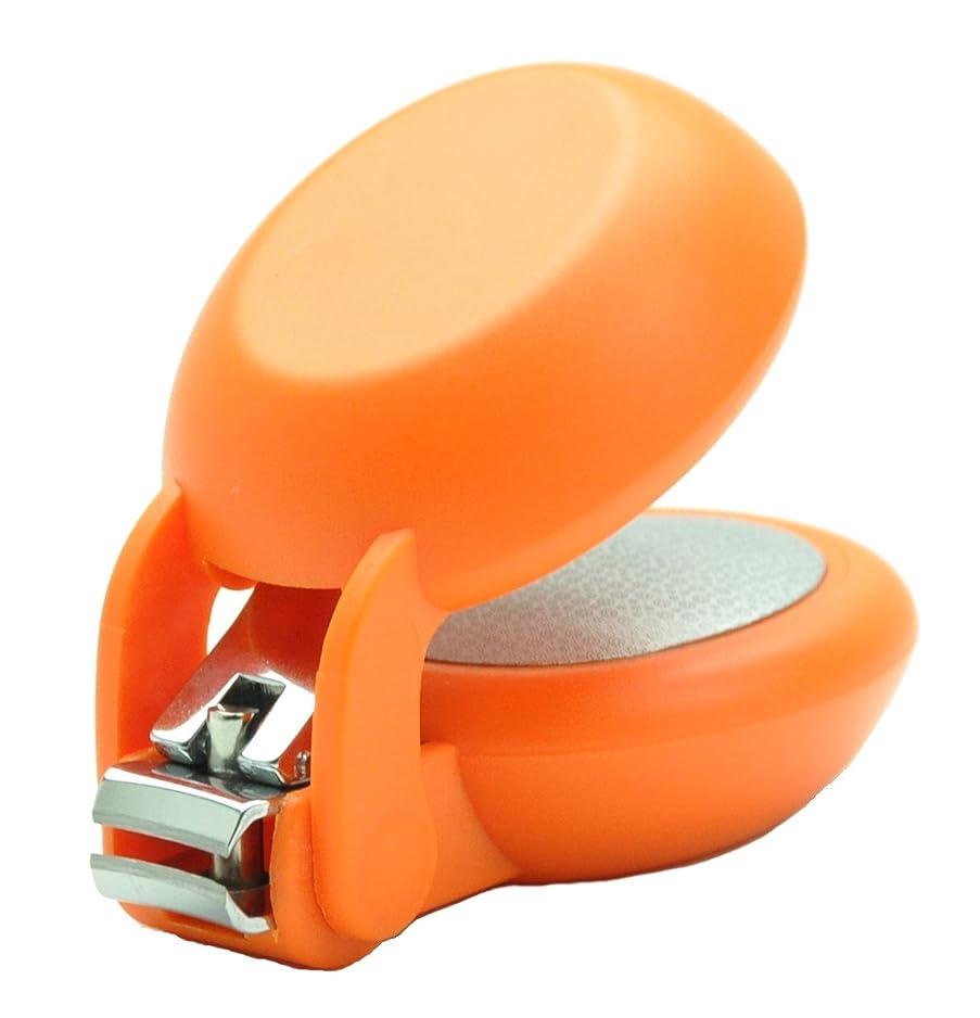 ねばねばブリーフケース権限を与える爪切り nail clipper (ネイルクリッパー) Nail+ (ネイルプラス) Orange (オレンジ)