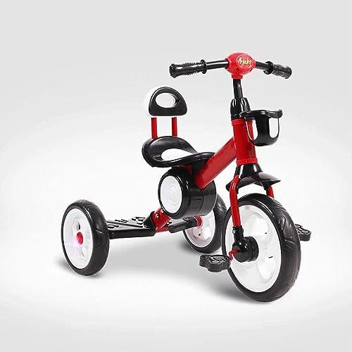 online barato Triciclos para Niños Bicicleta para bebés Triciclo para para para bebés Niños 2-3-5-6 años de edad GAOLILI (Color   rojo)  tienda en linea