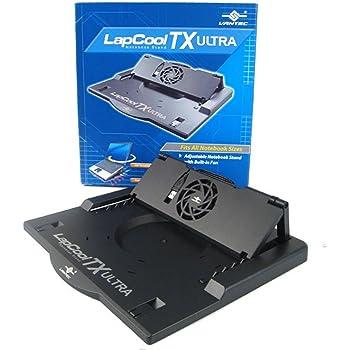 """Vantec LapCool TX Ultra - Accesorio para portátil (Negro, 17"""", 585 gramo, 328 x 298 x 31 milímetro)"""
