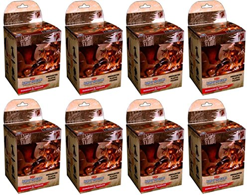 WizKids Dungeons & Dragons - D&D - Icons of The Realms: Tyranny of Dragons Booster Pack (Brick - 8 Packs) Miniatures Figures