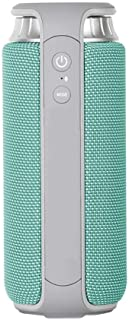 TDCQQ Bluetooth Speaker Bluetooth Speaker Portable Bluetooth Speaker Wireless Small Speaker Low (Color : Blue)