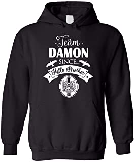 Team Damon Since Hello Brother Blend Hoodie