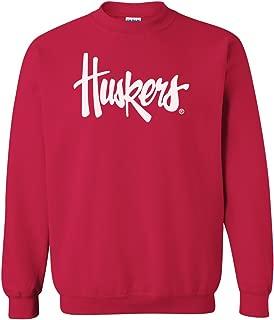 CornBorn Choose Your Design - Script Huskers Crewneck Sweatshirt