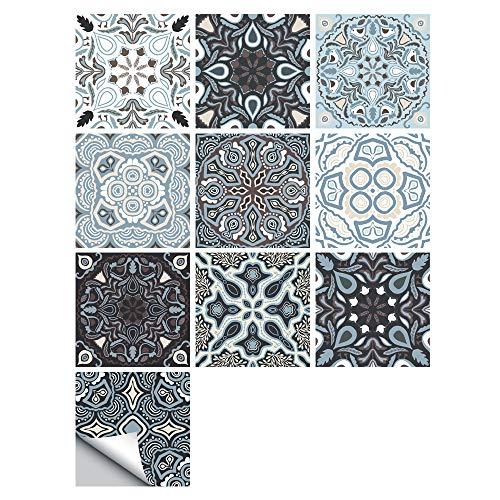 Adhesivos Para Azulejos De Pared - Adhesivo Para Azulejos Para Cocina, Sala De Estar, Baño, Decoración Del Hogar, 15 * 15 Cm MZ-164