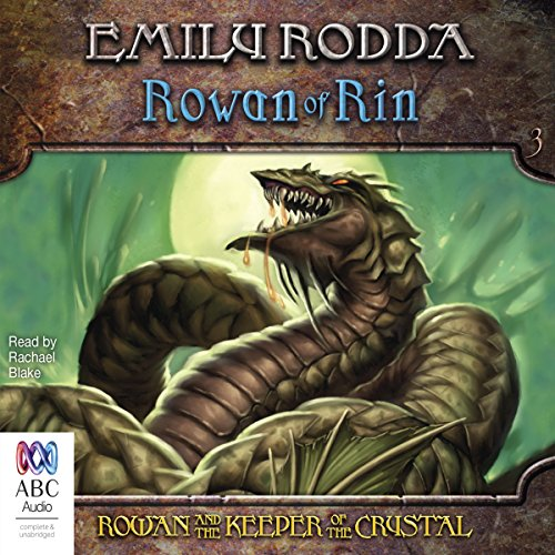 Rowan and the Keeper of the Crystal audiobook cover art