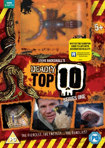 Deadly 60: Deadly Top 10 (Limited Edition with Scorpion Toy)