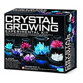 Crystal Growing Experiment Kit 4M Science Educational Fun Kids Play Children New ,#G14E6GE4R-GE 4-TEW6W297716
