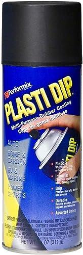 Plasti Dip - Bombe de peinture plastique/caoutchouc - Aérosol - 400ml - Noir