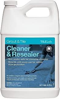 TileLab 1-gal. Grout and Tile Cleaner Resealer