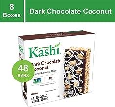 Kashi, Layered Granola Bars, Dark Chocolate Coconut, Non-GMO Project Verified, 6.7 oz, 6 Count(Pack of 8)