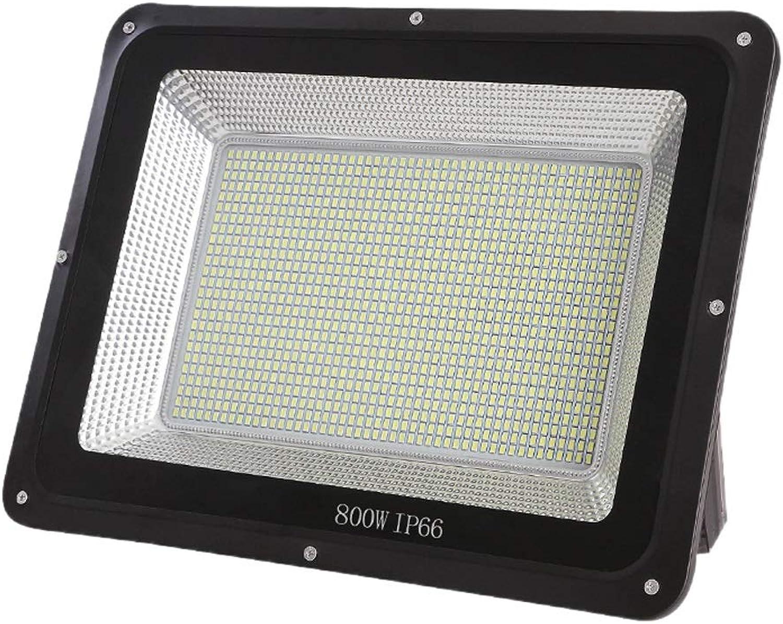 XEX LED Strahler Mit,Scheinwerfer Gartenlicht, Wasserdichtes Arbeitslicht Im Freien, Stadionbeleuchtung des Weien Lichts des Sicherheitslichts (Farbe   800W)