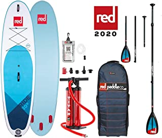 "Red Paddle Ride 10'6"" + Carbon 50-Nylon 3Pc Camlock, Multicolor"