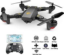 Hip Mall Mini Selfie Drone plegable con cámara para niños
