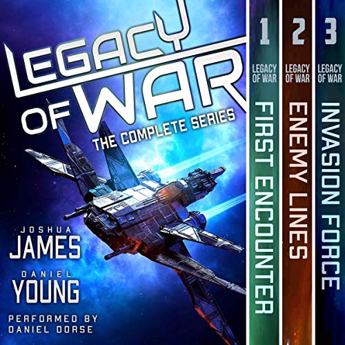 Legacy of War: The Complete Series (Books 1-3) Titelbild