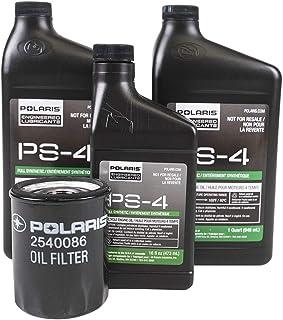 Polaris PS-4 Oil Change Kit for 2018 Ranger XP 1000