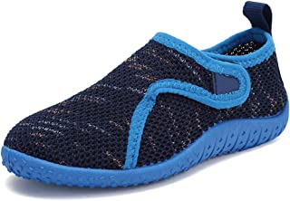 CIOR Toddler Kid Water Shoes Aqua Shoe Swimming Pool Beach Sports Quick Drying Athletic Shoes for Girls and BoysU120STHSX-...