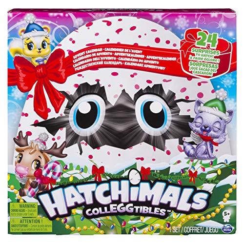 Hatchimals 6044284 - CollEGGtibles Polarpalast - Adventskalender mit 10 exklusiven Hatchimals und mehr als 24 Überraschungen