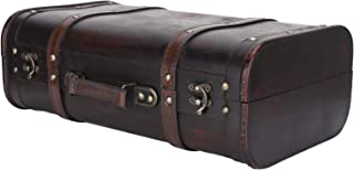 RBSD Dekorativt fodral, bärbart spänne lås personlig vacker vintage resväska, för män kvinnor fotostudio