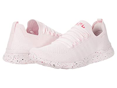 Athletic Propulsion Labs (APL) Techloom Breeze (Bleached Pink/Ruby/Midnight) Women