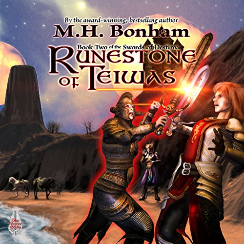 Runestone of Teiwas                   By:                                                                                                                                 M.H. Bonham                               Narrated by:                                                                                                                                 David Price                      Length: 11 hrs and 52 mins     1 rating     Overall 3.0