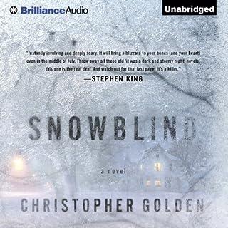 Snowblind audiobook cover art