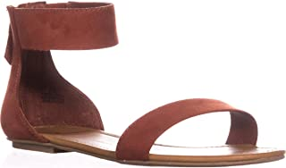 Womens Keley 2 Open Toe Casual Ankle Strap Sandals, Rust, Size 7.0