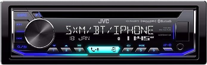 JVC KD-R990BTS 1-Din CD Receiver Featuring BT/USB/13-Band EQ