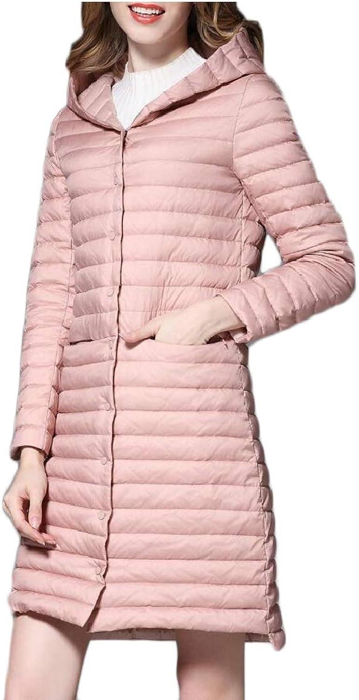 Gocgt Women's Hooded Packable Ultra Light Weight Down Coat Jacket Outwear