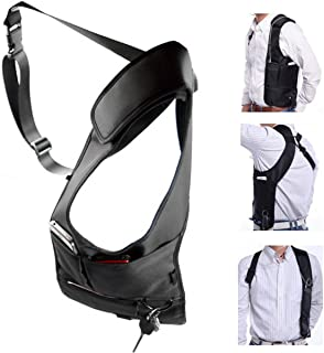 ECYC Men Security Holster Strap Messenger Bags Underarm Shoulder Bag Burglar Phone Pouch Tactical Bag