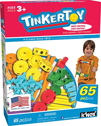 TINKERTOY 65 Piece Essentials...