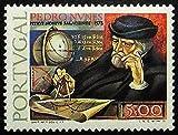 Pedro Nvnes, Portugal -Handmade Framed Postage Stamp Art 21405AM