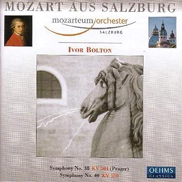 Mozart, W.A.: Symphonies Nos. 38 and 40