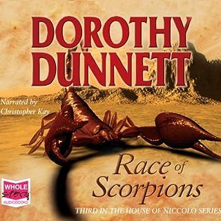 Race of Scorpions audiobook cover art