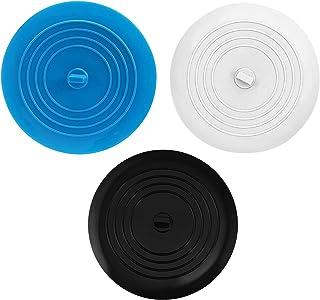 HUAZONTOM シンク ふた カバー シリコン 排水口カバー キッチン 3個入り 15㎝ 排水溝 蓋 洗面台/キッチン/風呂など適用