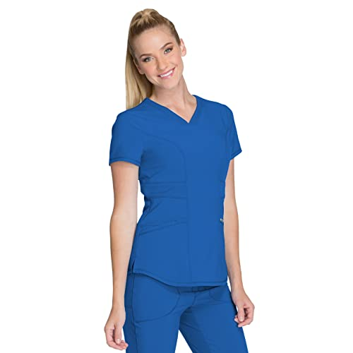 e6f8eb61f11 Nursing Uniforms Scrub Royal Blue Tops: Amazon.com